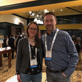"""Matt and Liz at """"The Best Ideas Conference"""" this past year in Denver."""