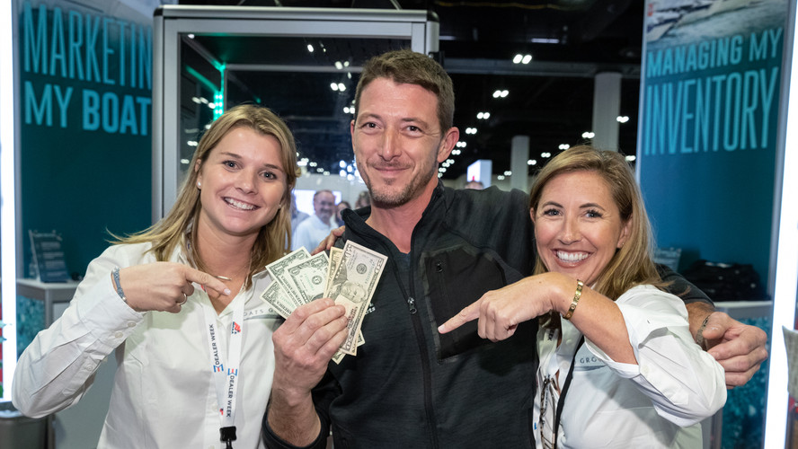 Boats Group with a winning dealer at Dea