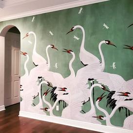 Gucci Green Heron Installation