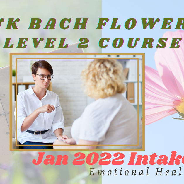 Bach Flower Level 2 English Course [JAN 2022]