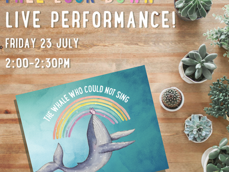 Live Performance of The Whale Who Could Not Sing.