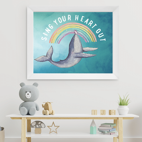 SING YOUR HEART OUT PRINT
