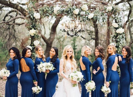 Color Guide for Your Bridesmaids