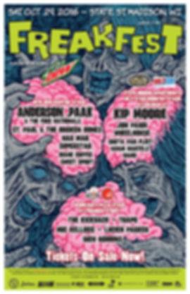 Freakfest 2016 Poster