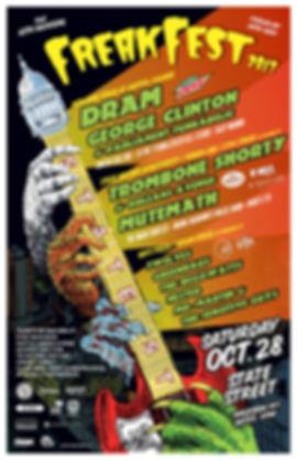 Freakfest 2017 Poster
