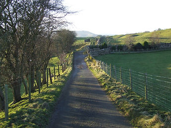 Approach to Old Camms Barn, Kettlewell Lane, Askrigg
