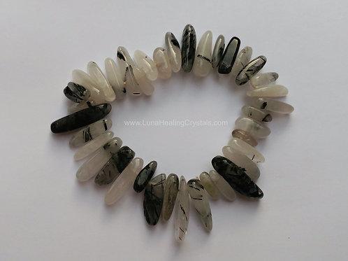 Tourmilated Quartz Bracelet