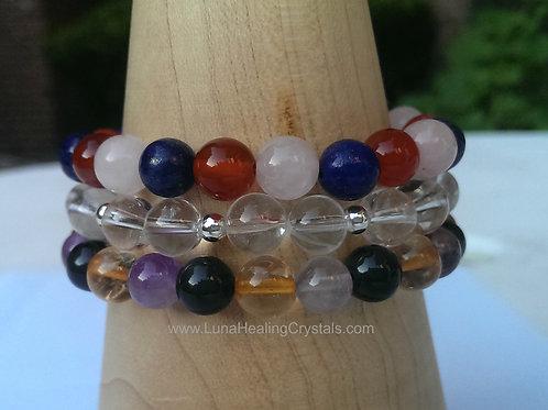 SALE! - Chakra Balance Layered Bracelet