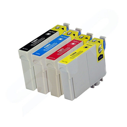 Compatible Epson T1281-4  ink set