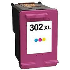 Compatible HP 302XL colour ink
