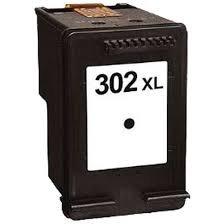 Compatible HP 302XL Black ink