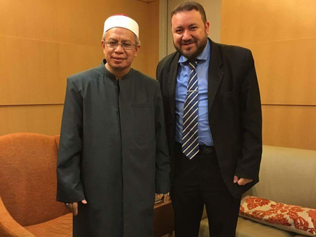 Manners personified: my 10 minute meeting with the Mufti of Malaysia!