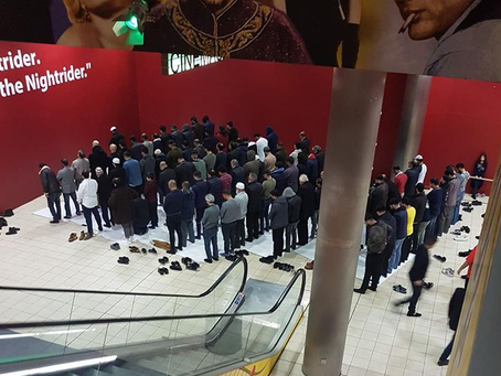 Cinemas turn off Music for Muslims to pray in the UK!