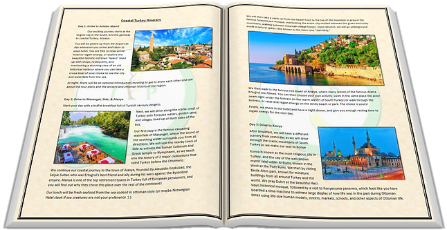 coastal turkey itinerary booklet thumbna