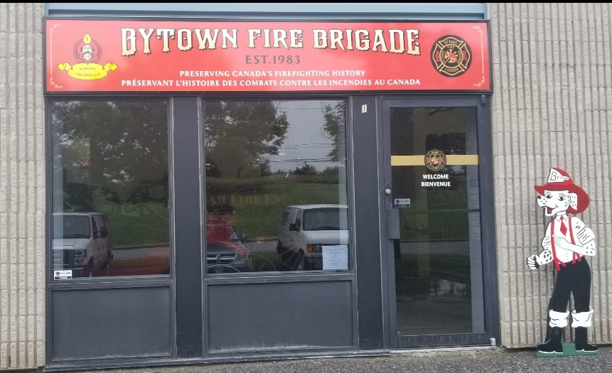 Bytown Visitor's Entrance