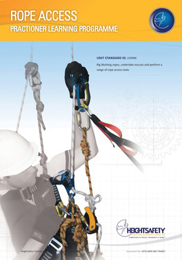 ROPE ACCESS PRACTIONER