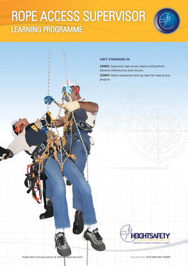 ROPE ACCESS SUPERVISOR
