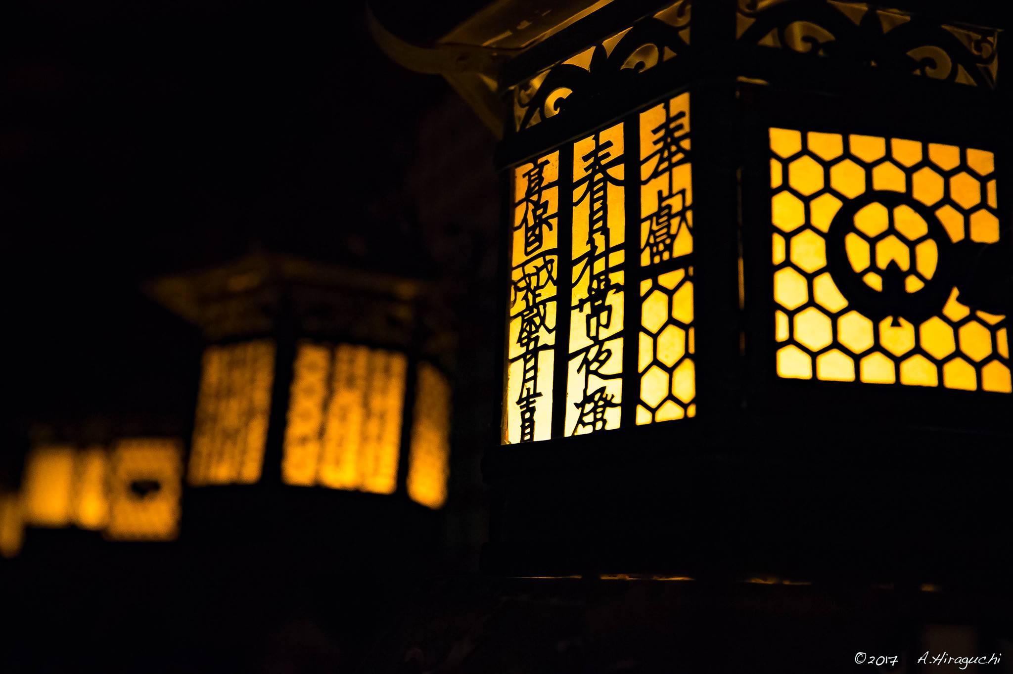 万燈籠の夜