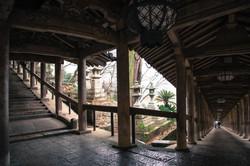 399段の登廊