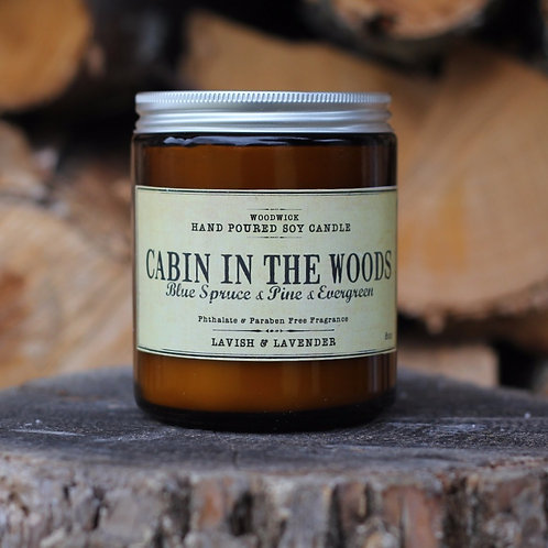 Cabin in the woods-8oz