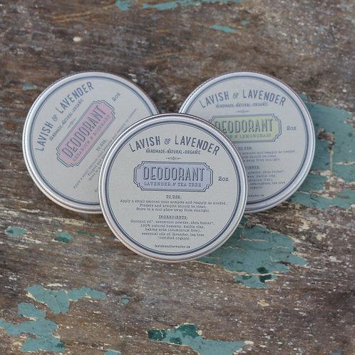 Deodorant - 2oz