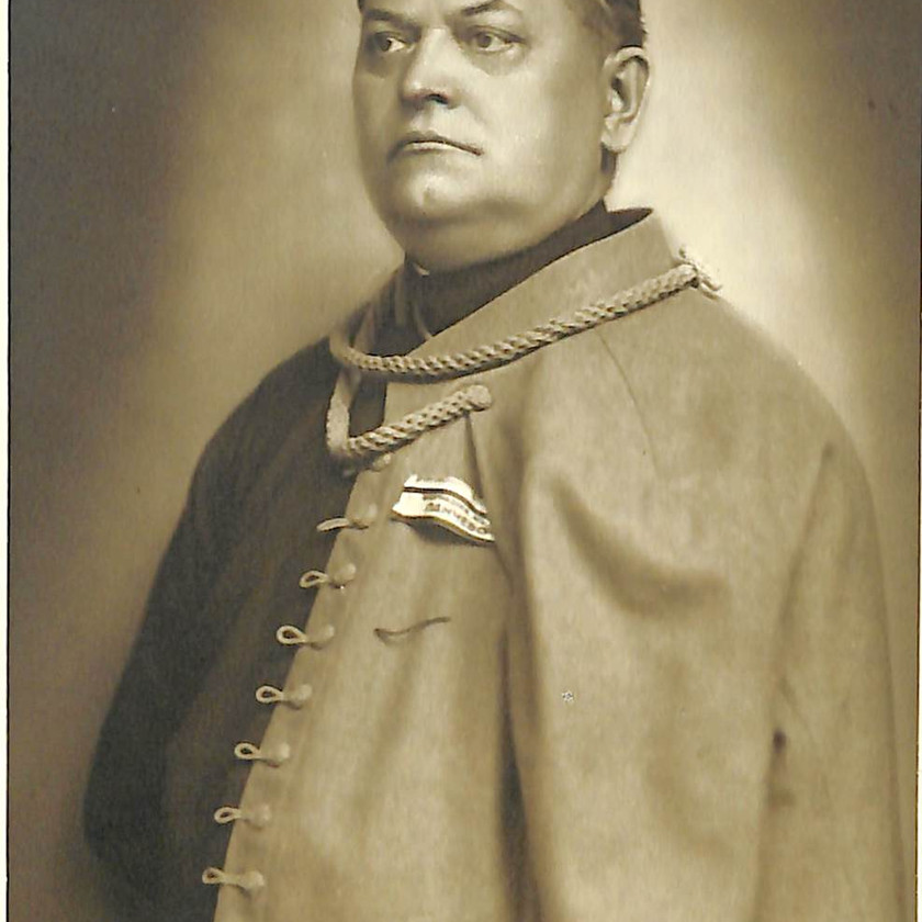 Nikola Dragicević, a doctor from Pančevo and a member of the Sokol Society, © Histor. Archiv Pancevo, lizenzfrei