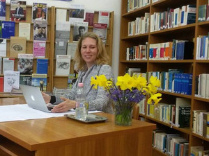 Lesung in der Österreich-Bibliothek in Pécs