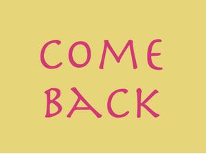 2. 4. 2019 – Comeback!