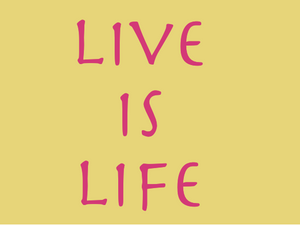 12. 12. 2017 – Live is life!