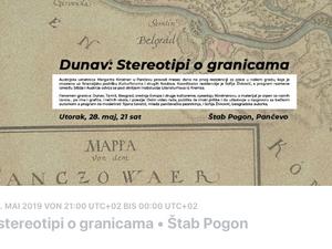 Meine Video-Text-Collage im Stab Pogon/ Pancevo