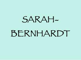 05. 8. (NÖ): SarahBernhardt bei den Raimundspielen in Gutenstein