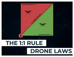 Drone Laws - 1:1 Rule