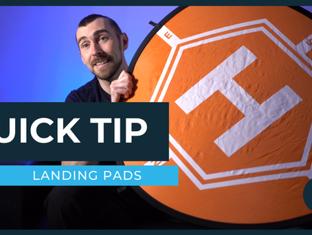 Quick Tip - Choosing A Landing Pad For Your Drone
