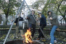 Lagerfeuer und Stockbrot auf dem Kinderbauernhof
