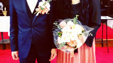 結婚式!(^^)!