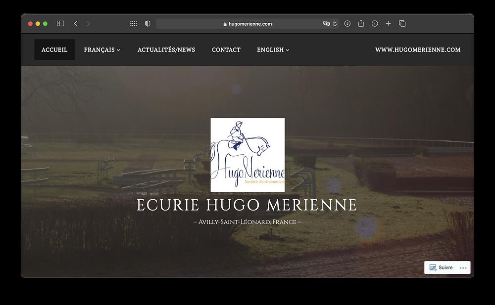 Link to Hugo Merienne Website