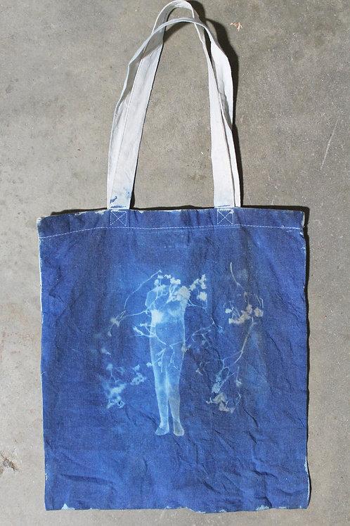 Ana Cyanotype Tote Bag