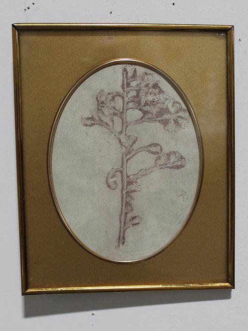 Small Flower Monoprint