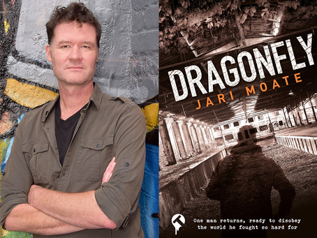 Dragonfly, by Jari Moate – Book Launch from Tangent Books with special guest Christopher Wakling