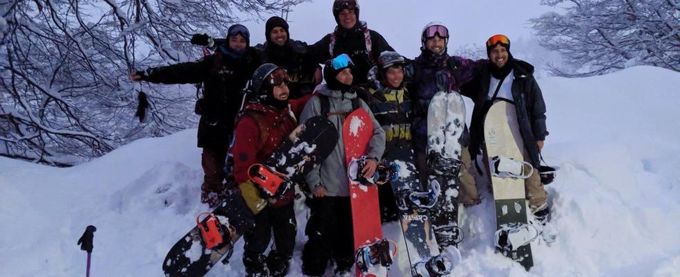 Backcountry crew