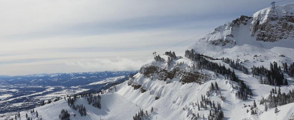 Teton village views