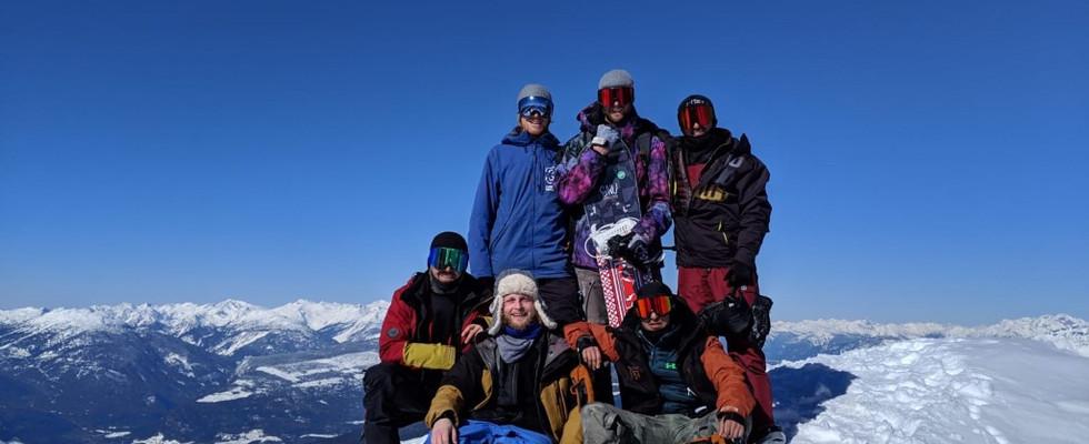 Top of Mount Mckenzie