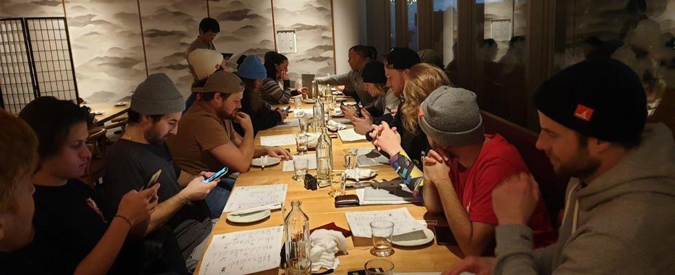 Squad dinner