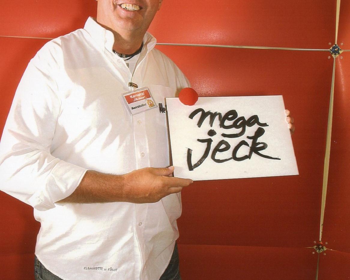 Willi is Mega Jeck