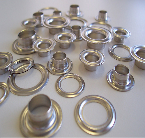EYELETS AND WASHERS For Fashion and Industrial applications