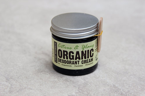 Living Naturally Citrus & Ylang Organic Deodorant