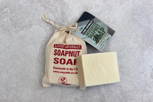Unscented Soapnut Soap