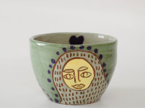 Small painted cup