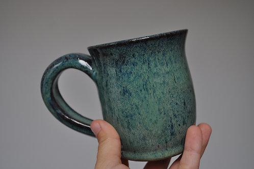 Small blue-green mug