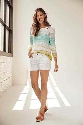 Light Weight Stripe Sweater